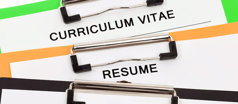Cv Vs. Resume: Is There A Difference? - Interfolio