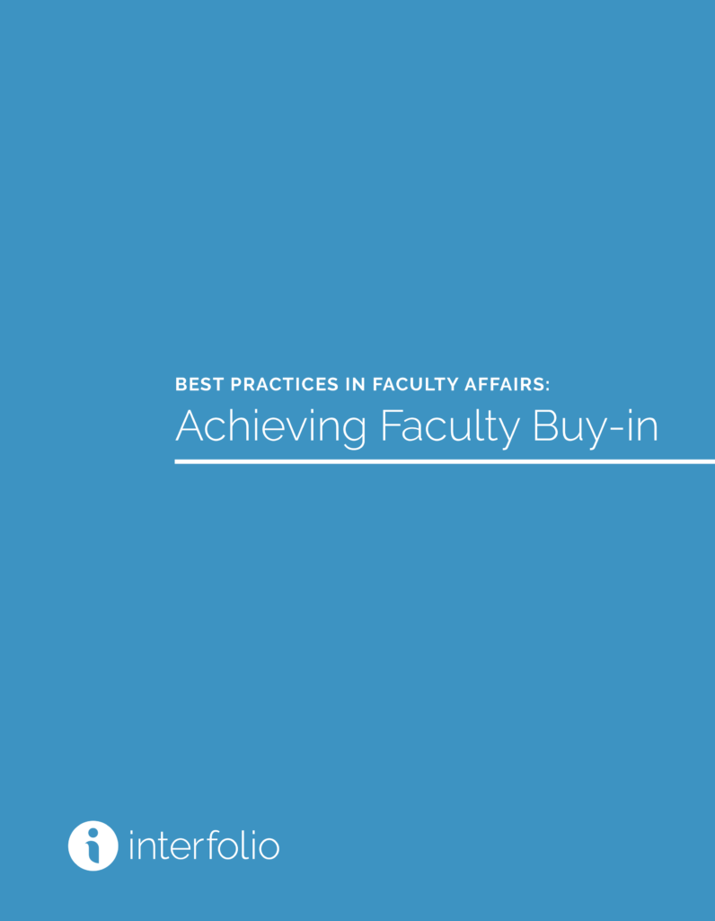 White Paper - Achieving Faculty Buy-in