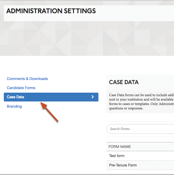 First 2016 ByCommittee release: Case Data Forms in Promotion & Tenure