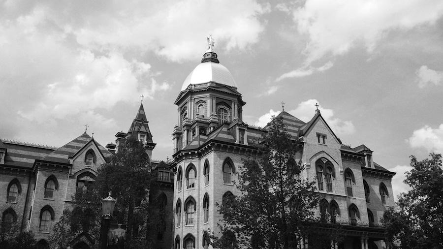 University of Notre Dame campus