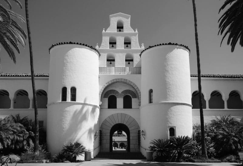 A photo of the SDSU Campus